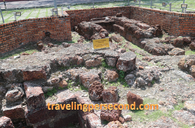 Jajaran Tembok Portugis Melaka