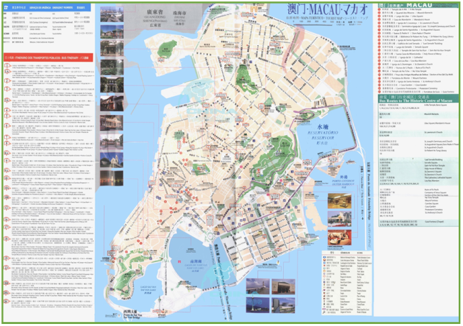 Macau Tourism and Bus Map1