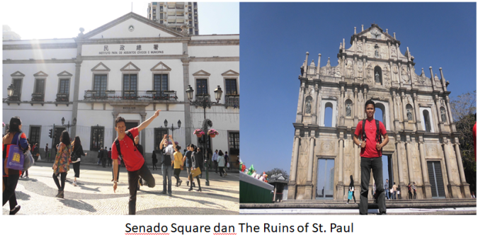The Ruins of St Paul
