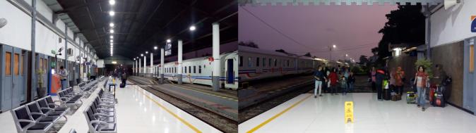 Stasiun Cilacap pagi